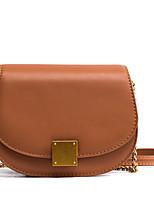 cheap -Women Bags PU Shoulder Bag Zipper for Casual Office & Career All Season Khaki Brown Gray Blushing Pink Black
