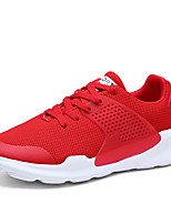 cheap -Men's Shoes Tulle Spring Summer Comfort Sneakers for Casual Outdoor Red Gray Black