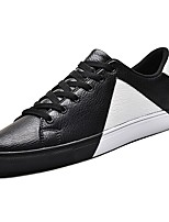 cheap -Men's Shoes PU Spring Fall Comfort Sneakers for Casual White Black Pink/White