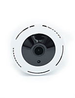 hd 720p 180degree panorámico gran angular mini cctv cámara smart ipc inalámbrico fisheye ip cámara p2p seguridad wifi cámara barril