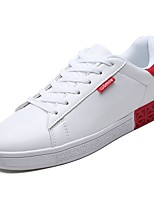 cheap -Shoes PU Spring Fall Comfort Sneakers for Casual Red Black/White White/Green