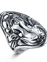 cheap -Men's Statement Rings , Asian Hip-Hop Oversized Stainless Steel , Jewelry Carnival Club