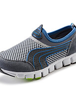 cheap -Boys' Shoes Tulle Spring Fall Comfort Loafers & Slip-Ons for Casual Gray Yellow Blue