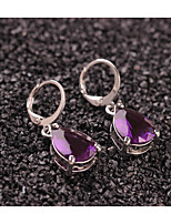 cheap -Women's Drop Earrings Fashion Sweet Crystal Alloy Drop Jewelry Party Daily Costume Jewelry