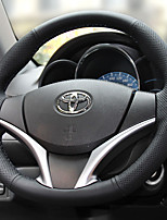 cheap -Automotive Steering Wheel Covers(Leather)For Toyota All years Yaris