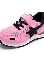 Недорогие -Девочки обувь Тюль Весна Осень Удобная обувь Кеды для Повседневные Серый Военно-зеленный Розовый