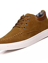 cheap -Men's Shoes Cashmere Spring Fall Comfort Sneakers for Casual Blue Brown Black