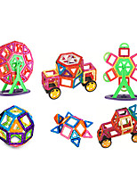 cheap -Magnetic Blocks 151 pcs Parent-Child Interaction Transformable Toy Truck Plane Square Circular Car Children's Gift