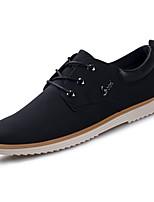 Недорогие -мужская обувь резиновая пружина осень комфорт oxfords для наружного верблюда зеленый черный