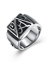 cheap -Men's Statement Rings , Vintage Ethnic Fashion Stainless Steel , Jewelry Halloween Ceremony