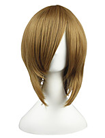 cheap -14inch Short Brown Kuroko no Basket Aida Riko Synthetic Anime Cosplay Wig CS-001J