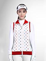 economico -Per donna Golf Canottiera/Gilet/Canotta Antivento Indossabile Traspirabilità Golf Attività all'aperto