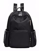 cheap -Women's Bags Nylon Backpack Zipper for Outdoor All Seasons Black Red Dark Blue Purple
