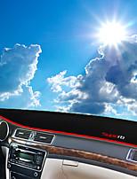 cheap -Automotive Dashboard Mat Car Interior Mats For Skoda 2013 2014 2015 Superb