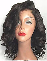 cheap -Brazilian Short Human Hair Lace Wig With Baby Hair Lace Front Human Hair Wigs Pre Plucked