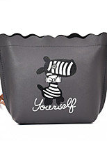 cheap -Women's Bags PU Shoulder Bag Pattern / Print Zipper for Casual All Season Green Black Blushing Pink Gray