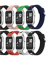 cheap -Watch Band for Apple Watch Series 3 / 2 / 1 Apple Wrist Strap Modern Buckle Silicone