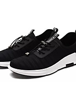 cheap -Shoes PU Tulle Spring Fall Comfort Sneakers for Casual Black Wine