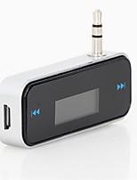 economico -trasmettitore auto fm per smart phone bluetooth wireless auto lettore audio fm modulatore display lcd accessori auto