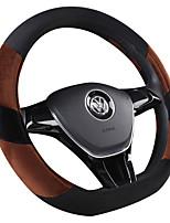 Недорогие -автомобильные крышки рулевого колеса (искусственная шерсть) для универсальных общих двигателей