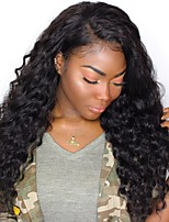 cheap -Lace Front Human Hair Wigs For Black Women 250 Density Lace Front Wig Loose Wave Brazilian Wig Pre Plucked Remy Hair