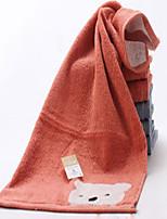 abordables -chiffon de lavage de style frais, impression serviette 100% coton de qualité supérieure