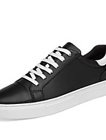 cheap -Shoes Cowhide Nappa Leather Leather Spring Fall Driving Shoes Comfort Sneakers for Casual Office & Career Black