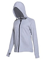 cheap -Women's Running Jacket Long Sleeves Quick Dry Sweatshirt for Running/Jogging Cotton Loose Grey Blue Black XXL XL L M S