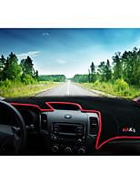 preiswerte -Automobil Armaturenbrett Matte Innenraummatten fürs Auto Für Kia Alle Jahre K3