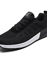 cheap -Shoes PU Spring Fall Comfort Sneakers for Outdoor White Black Gray