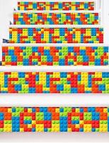 Недорогие -Геометрия абстракция Наклейки Корпус Простые наклейки 3D наклейки Декоративные наклейки на стены Свадебные наклейки,Бумага Винил