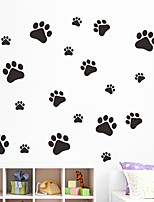 cheap -Animals Shapes Wall Stickers Plane Wall Stickers 3D Wall Stickers Decorative Wall Stickers Wedding Stickers, Paper Vinyl Home Decoration