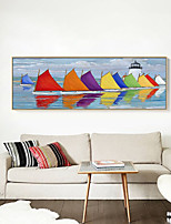 cheap -Aquatic & Nautical Wall Art,PS Material With Frame For Home Decoration Frame Art Living Room