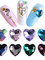 cheap -Rhinestones Nail Jewelry Nail Glitter Fashionable Jewelry Luxury Jeweled Random Colors Nail Art Design