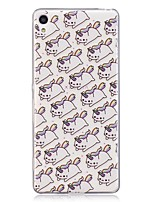 cheap -Case For Huawei Xperia M2 Xperia XA Pattern Back Cover Unicorn Soft TPU for Sony Xperia XA Sony Xperia M2