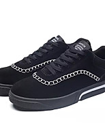cheap -Shoes PU Pigskin Spring Fall Comfort Sneakers for Casual Black Gray Black/White