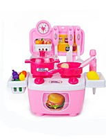 cheap -Toy Kitchens & Play Food Toys Food & Beverages Simulation Parent-Child Interaction ABS Child Adults' 15 Pieces