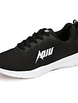cheap -Men's Shoes Tulle Spring Fall Comfort Sneakers for Casual Black Gray Red Blue