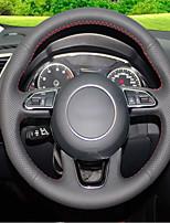 abordables -cubiertas del volante automotriz (cuero) para audi 2013 q5