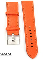 cheap -Men's Women's Wrist watch Chinese Quartz Casual Watch Leather Band Cool Orange Yellow