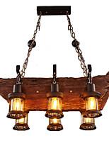 preiswerte -Retro / Vintage Landhaus Stil Ministil Pendelleuchten Raumbeleuchtung Für Shops/ Cafés 110-120V 220-240V Glühbirne nicht inklusive