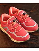 Недорогие -Девочки обувь Ткань Весна Осень Удобная обувь Кеды для Повседневные Черный Военно-зеленный Розовый