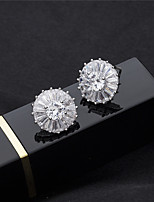 cheap -Women's Stud Earrings Rhinestone Basic Crystal Rhinestone Jewelry For Wedding Party