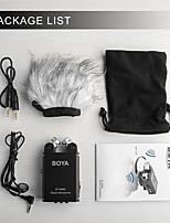 cheap -BOYA BY-SM80 For Camera Camcorder Microphone With Windshield Stereo Recorder