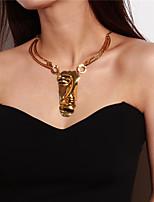 abordables -Femme Cool Collier court /Ras-du-cou Pendentif de collier , Alliage Collier court /Ras-du-cou Pendentif de collier , Carnaval Soirée