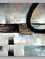 cheap -Hand-Painted Abstract Square, Modern Oil Painting Home Decoration One Panel