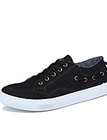 cheap -Men's Shoes Rubber Spring Fall Comfort Sneakers for Outdoor Black Dark Grey Blue