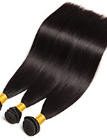 cheap -Brazilian Straight Human Hair Weaves 3 Pieces 0.3