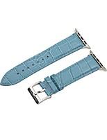 preiswerte -Uhrenarmband für Apple Watch Series 2 Apple Watch Series 1 Apple Handschlaufe Klassische Schnalle Echtes Leder