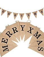 cheap -Christmas Party / Evening Rope Jute Wedding Decorations Holiday Classic Theme Vintage Theme Winter